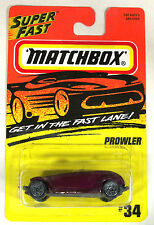 Vintage Matchbox Cars - 1996 Matchbox  MB34 Plymouth PROWLER