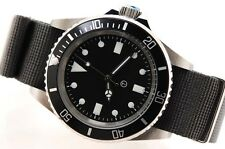 Military-Submariner Automatic 10ATM Divers Watch (Grey Webbing)