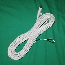 30' White Vacuum Cleaner Power Cord Filter Queen Tristar Compact Canister 17/2