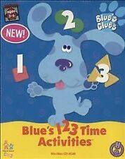 Blue's 123 Time Activities, Very Good Windows NT, Pc Video Games