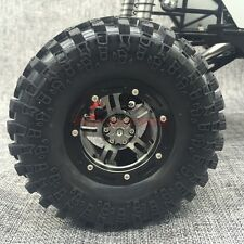 AXIAL WRAITH WHEEL 2.2 BEADLOCK FULL METAL WHEELS RIMS (4) FOR RC CRAWLER TRUCK
