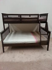 BUNK BED DOUBLE SINGLE TIMBER 03 97810799