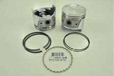 6-Pistons With Rings fits Nissan 280Z & 280ZX 1975-1979 - RY2700 +.020 Oversize