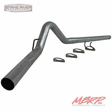"""MBRP 4"""" FILTER BACK EXHAUST 2008-10 FORD F250 F350 6.4L DIESEL NO MUFFLER S6242P"""