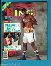 #AA. THE RING BOXING MAGAZINE,  JANUARY 1989