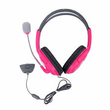 New Pink Headset Headphone With Mic For Xbox 360 Live Wireless Controller OV