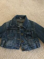 Zara Girl short jeans jacket (2-3 years old)