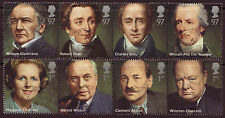GREAT BRITAIN 2014  BRITISH PRIME MINISTERS SET OF 8 FINE USED