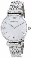 NEW Emporio Armani - AR1682 - Ladies Stainless Steel - Silver Watch WARRANTY