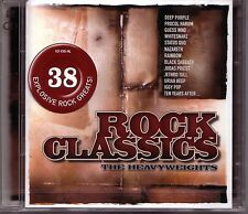 2 CD (NEU!) ROCK CLASSICS (38 Klassike dig.rem Paranoid Smoke on the Water mkmbh