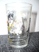 Verre à moutarde Lucky Luke N°3/1984 - vintage glass by Morris