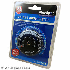 BlueSpot 80101 Stove Pipe Thermometer Temperature Monitor Magnetic Coal Log Wood