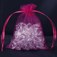 10pcs plum Organza Jewelry Gift Pouch Bags 9X7CM SH538
