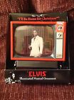Christmas Ornament Elvis Presley Sings Musical TV Television Set I'll Be Home