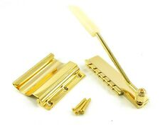 WD Short Vibrola Tremolo Maestro Tailpiece w/ Arm GOLD 4 Gibson SG - US SELLER