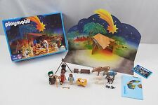 Playmobil Christmas Nativity and Wise Kings Set 3996 Holiday NOT COMPLETE Jesus