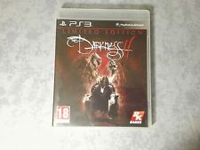 THE DARKNESS II 2 LIMITED EDITION SONY PS3 PAL ITA ITALIANO COMPLETO COME NUOVO