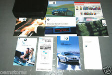 2002 BMW M3 CONVERTIBLE Owners Manual - Set!!!  (Radio Manual)