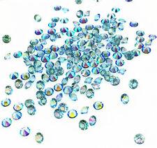 Light blue AB Crystal Birthstones Floating Charm for Glass Living Memory Lockets