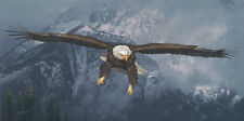 """American Icon"" Daniel Smith Western Fine Art Giclee Canvas - Bald Eagle"