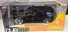 2002 CADILLAC ESCALADE DIE CAST CHROME 1/24 BY JADA DUBCITY - Brand NEW - NEW