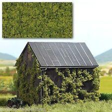 (1m²=114,40€) BUSCH 7345 Foliage, 2-farbig hellgrün, 150 x 250 mm, Neu