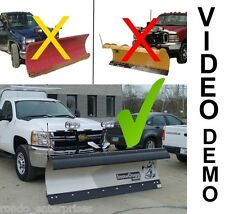 SnowDogg snow plow HD75 series 7.5' commercial snow plow. Many options INCLUDED!
