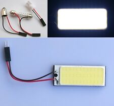 White 36 COB LED Panel HID Bulb Car Vehicle Interior Map Dome Light T10 BA9S