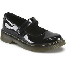 Childrens Maccy Mary Jane Shoes - Black Patent UK13 EU32