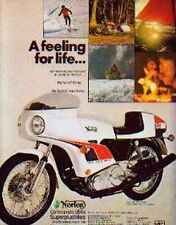 JOHN PLAYER NORTON 850 CAFE RACER Motorcycle Ad 1974