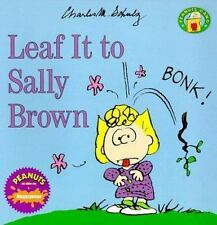 Leaf It to Sally Brown (Peanuts Gang)-ExLibrary