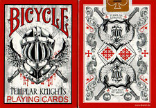 Bicycle Templar Knight Playing Cards - Limited Edition - SEALED