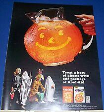 1964 orange Kool-Aid Halloween kids costumes Ad