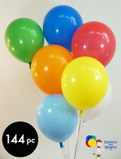 9 Inch Pastel Assorted Color Latex Balloons | 144 pc bag