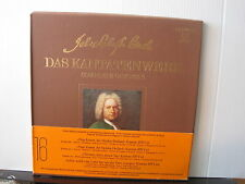 TELEFUNKEN: BACH Das Kantatenwerk Complete Canatas Double LP Box FREE UK POST