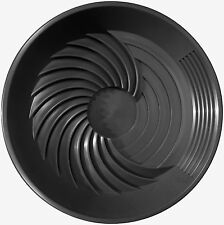 "Turbopan BLACK Gold Pan VORTEX ACTION! Panning 16""  Prospecting Mining Turbo Pan"