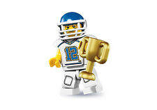 Lego Minifigures 8833 Series 8 Football Player New in Factory Sealed Packet