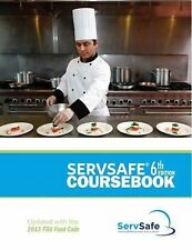 ServSafe CourseBook with Answer Sheet 6th Edition Revised by National...