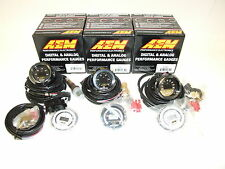 AEM (3 Gauges Combo) - UEGO WideBand A/F Ratio + Fuel Pressure + Turbo Boost
