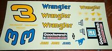 JnJ NASCAR DECALS #3 DALE EARNHARDT WRANGLER GOODWRENCH MONTE CARLO 1986?