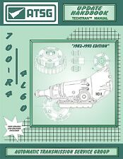 ATSG Chevy GM TH700R-4 700R4 Update Transmission Rebuild Instruction Tech Manual