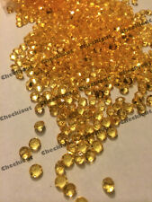 2000 Gold Acrylic Diamond Confetti 4.5mm for Wedding Decoration Table Scatters