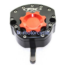 CNC Steering Damper Stabilizer For Kawasaki ZX-6R ZX636/6RR ZX-10R ZX636