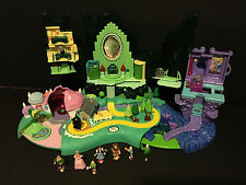 Vintage Polly Pocket Wizard of Oz Emerald City with Figures 2001