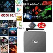 TX8 TV BOX Android 6.0 Amlogic S912 KODI 16.1 2G/32G 5.8G WIFI 4K Media player