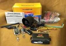 NEW Crimestopper SP-502 2-Way Car Alarm w/ Remote Start, Keyless Entry SP502