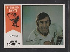1974-75  OPC  O-PEE-CHEE  WHA  # 54  WAYNE CONNELLY  EX-MT   INV 4339
