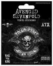 AVENGED SEVENFOLD VINYL STICKERS NEW 100% OFFICIAL MERCHANDISE