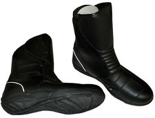 Motorcycle Boots - Waterproof -  Black - US Size 12