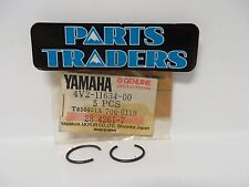 Yamaha Crankshaft Piston Circlip Set Of 2 YZ125 IT200 Banshee Enticer YZ250